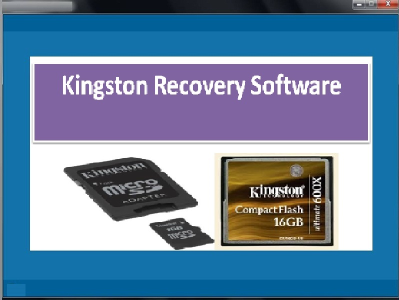 Tool to recover media files from kingstone